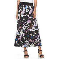Petite Dana Buchman Crepe Maxi Skirt