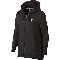 Women's Nike Speckle Fleece Zip-Up Hoodie