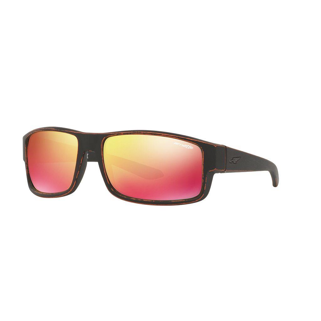 Arnette Boxcar AN4224 59mm Rectangle Mirror Sunglasses