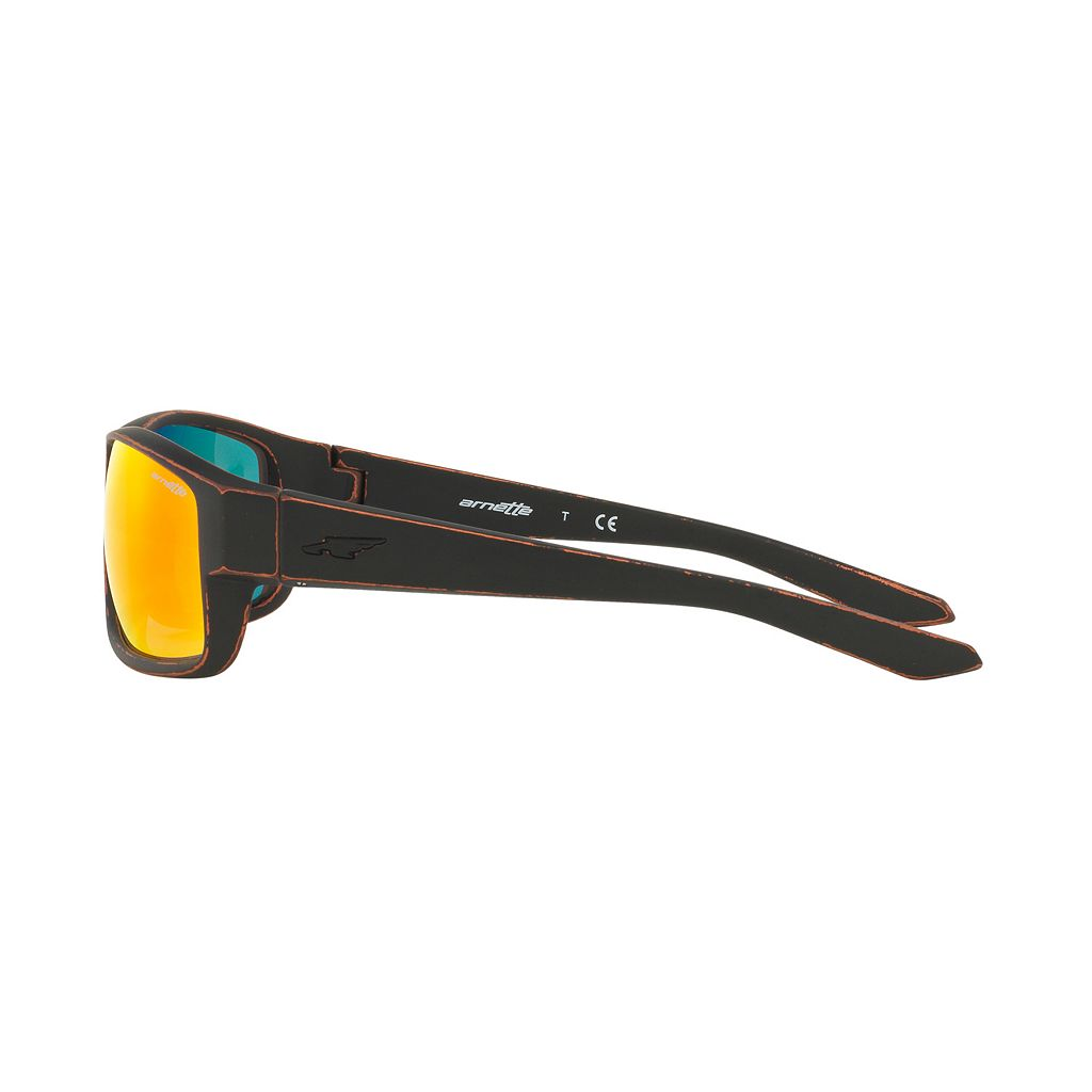 Arnette Boxcar AN4224 59mm Rectangle Mirror Sunglasses