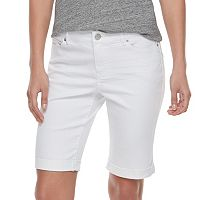 Women's Juicy Couture Flaunt It Bermuda Jean Shorts