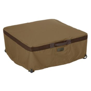 Hickory Large Square Fire Pit Cover