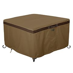 Hickory 42 in Square Fire Pit Table Cover
