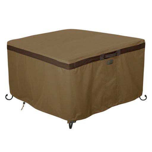 Hickory 42-in. Square Fire Pit Table Cover