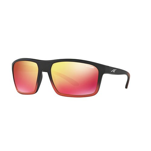 Arnette Sandbank AN4229 61mm Square Mirror Sunglasses