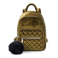 Candie's® Velvet Quilted Mini Backpack