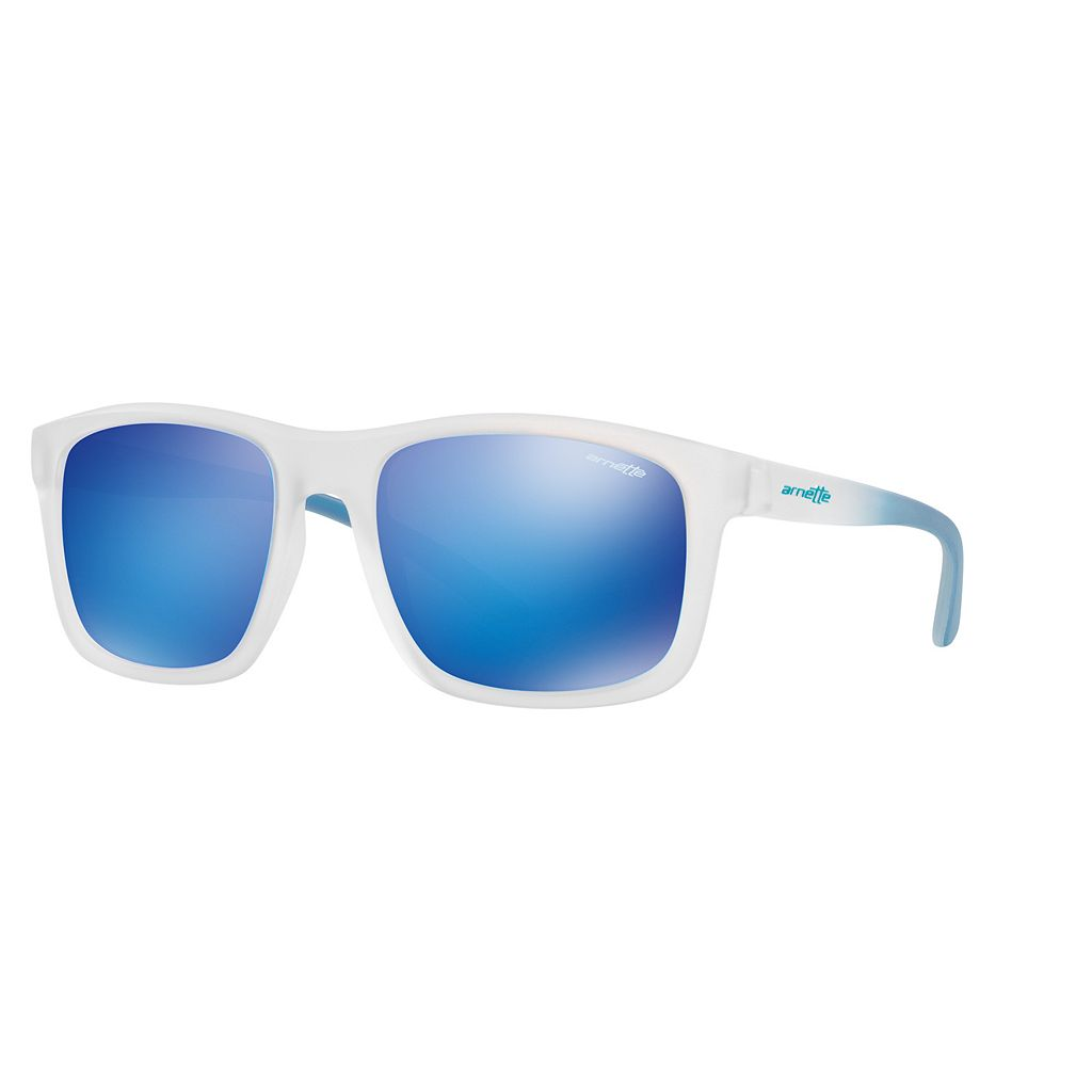 Arnette Complementary AN4233 57mm Square Mirror Sunglasses