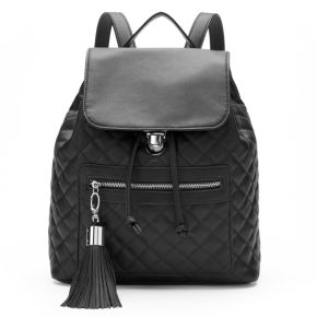 Candie's® Darcy Quilted Drawstring Backpack