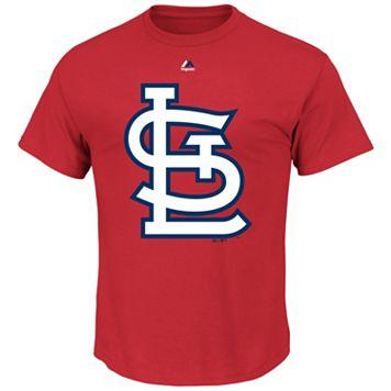 Big & Tall Majestic St. Louis Cardinals Large Logo Tee