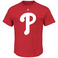 Big & Tall Majestic Philadelphia Phillies Large Logo Tee