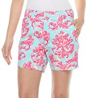 Women's Caribbean Joe Scroll Shorts