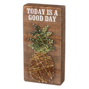 Pineapple String Box Wall Art