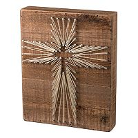 Cross String Box Wall Art