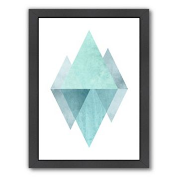 Americanflat Geometric Art 42 Framed Wall Art