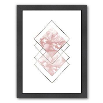 Americanflat Geometric Art 44 Framed Wall Art
