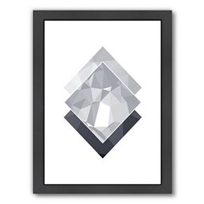 Americanflat Geometric Art 45 Framed Wall Art