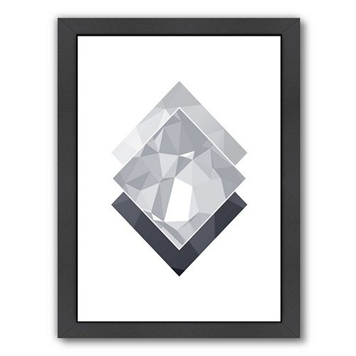 Americanflat Geometric Art 45 Framed Wall Art