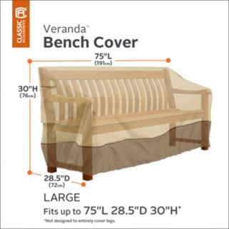 Veranda Large Patio Bench Cover