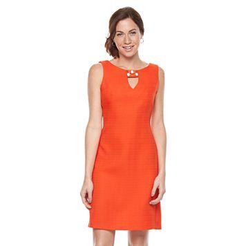 Women's Ronni Nicole Embellished Keyhole Shift Dress