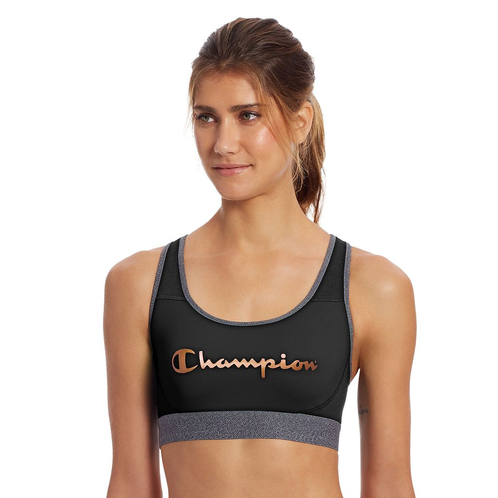 Champion Bras: Absolute Workout Medium-Impact Sports Bra B1251G