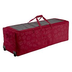 Seasons Artificial Christmas Tree Rolling Storage Duffel Bag