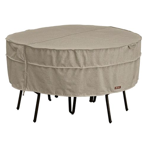 Montlake Medium Round Patio Table & Chairs Cover