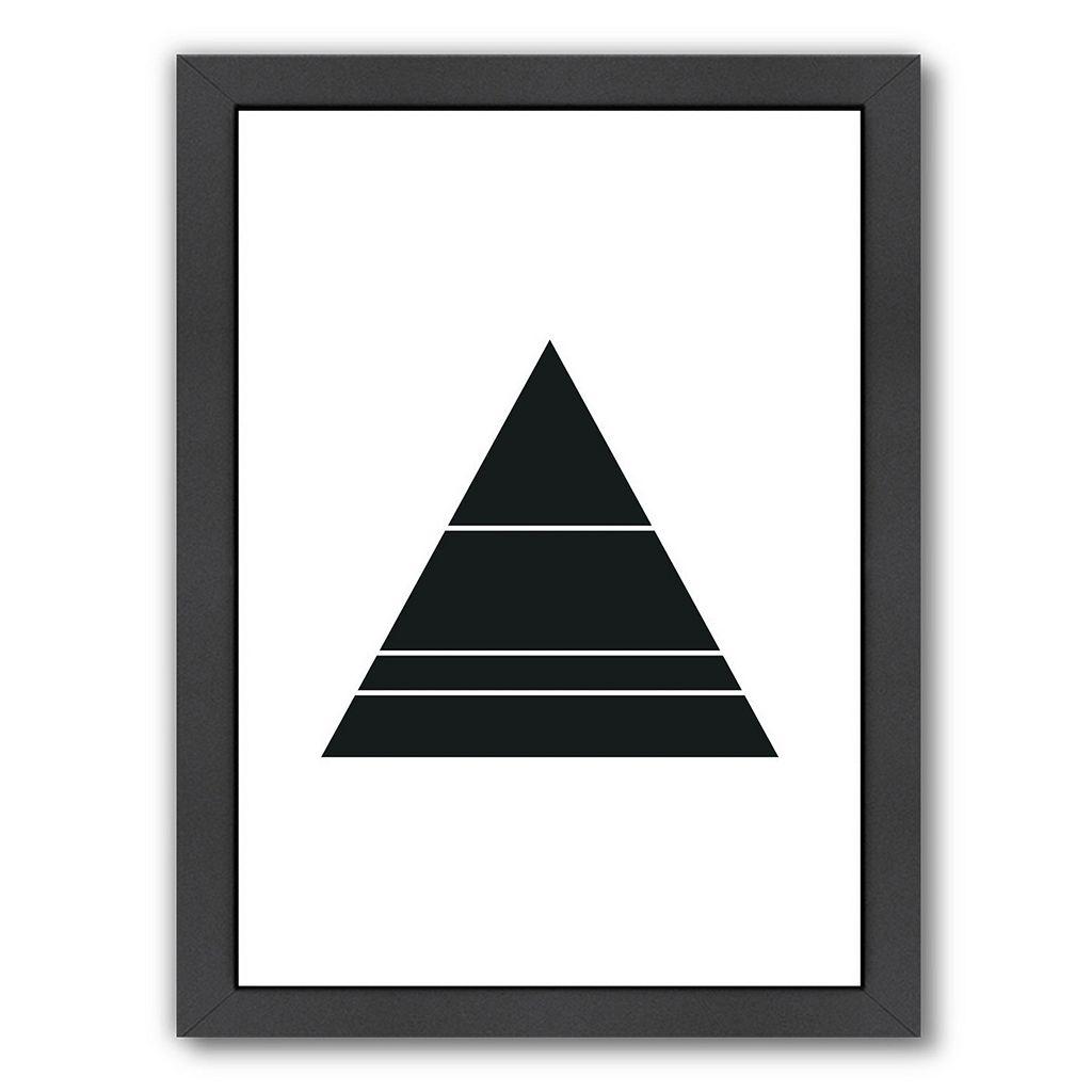 Americanflat Geometric Art 48 Framed Wall Art