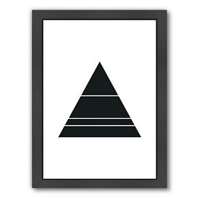 Americanflat Geometric Art 48 Framed Wall Art