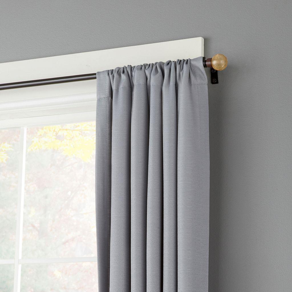 Kenney Crackle Adjustable Curtain Rod