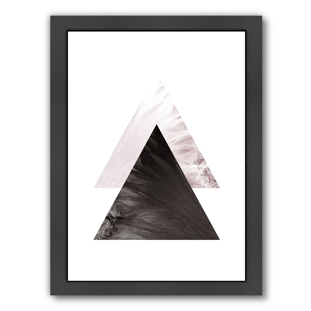 Americanflat Geometric Art 49 Framed Wall Art