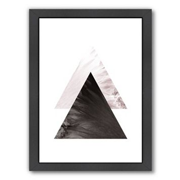 Americanflat Geometric Art 49 Framed Wall Art