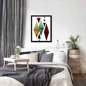 Americanflat Geometric Art 50 Framed Wall Art