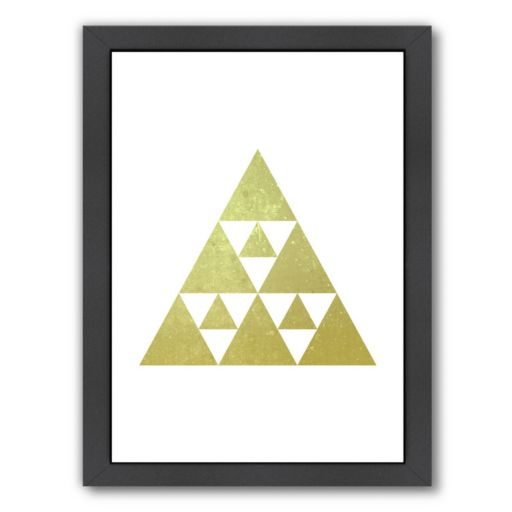 Americanflat Geometric Art 51 Framed Wall Art
