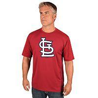 Big & Tall Majestic St. Louis Cardinals Skills Tee