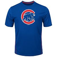 Big & Tall Majestic Chicago Cubs Skills Tee