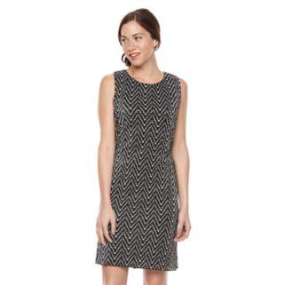 Women's Ronni Nicole Chevron Shift Dress