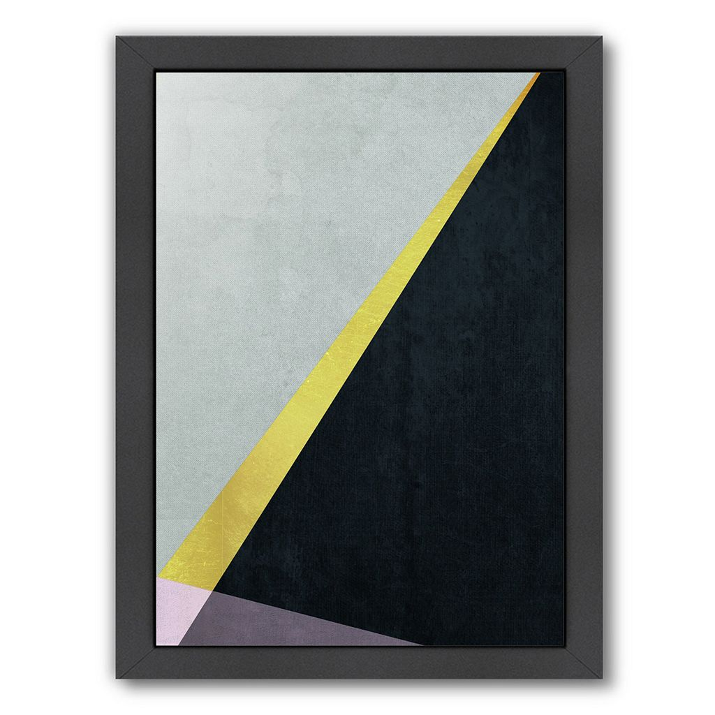 Americanflat Geometric Art 53 Framed Wall Art