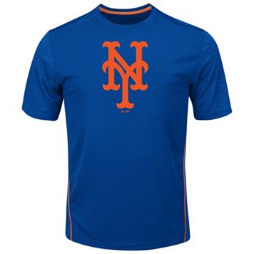 Big & Tall Majestic New York Mets Skills Tee