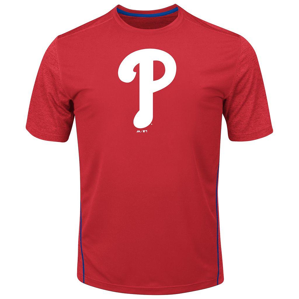 Big & Tall Majestic Philadelphia Phillies Skills Tee