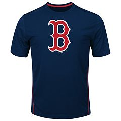 Big & Tall Majestic Boston Red Sox Skills Tee