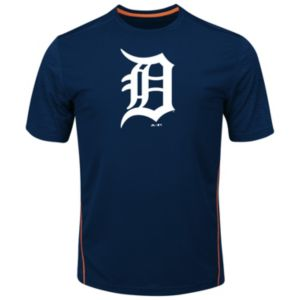 Big & Tall Majestic Detroit Tigers Skills Tee