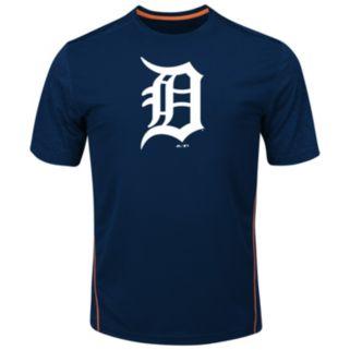 Big & Tall Majestic Detroit Tigers Skills Tee