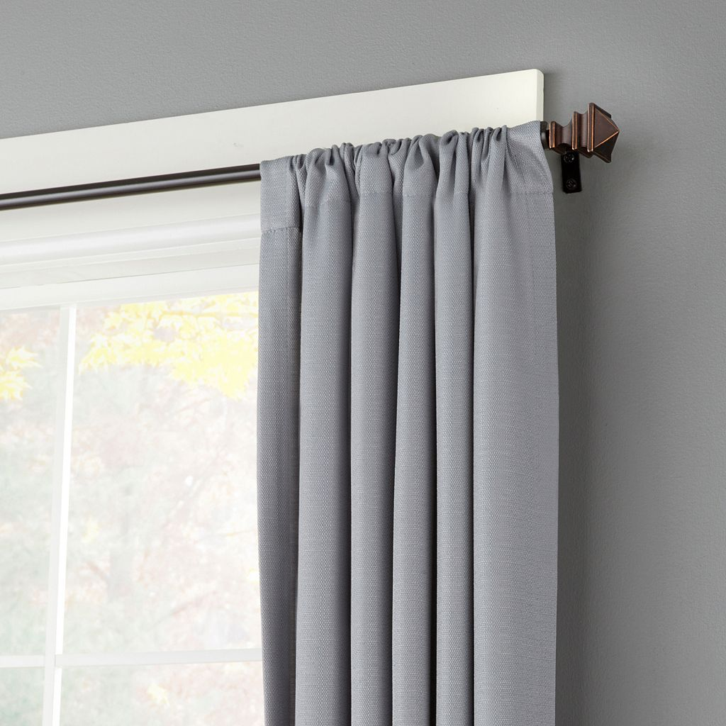 Kenney Arts and Crafts Adjustable Curtain Rod