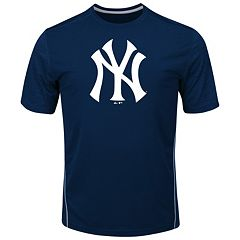Big & Tall Majestic New York Yankees Skills Tee