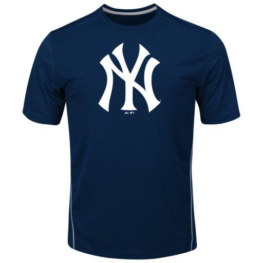 Big & Tall Majestic New York Yankees Skills Tee