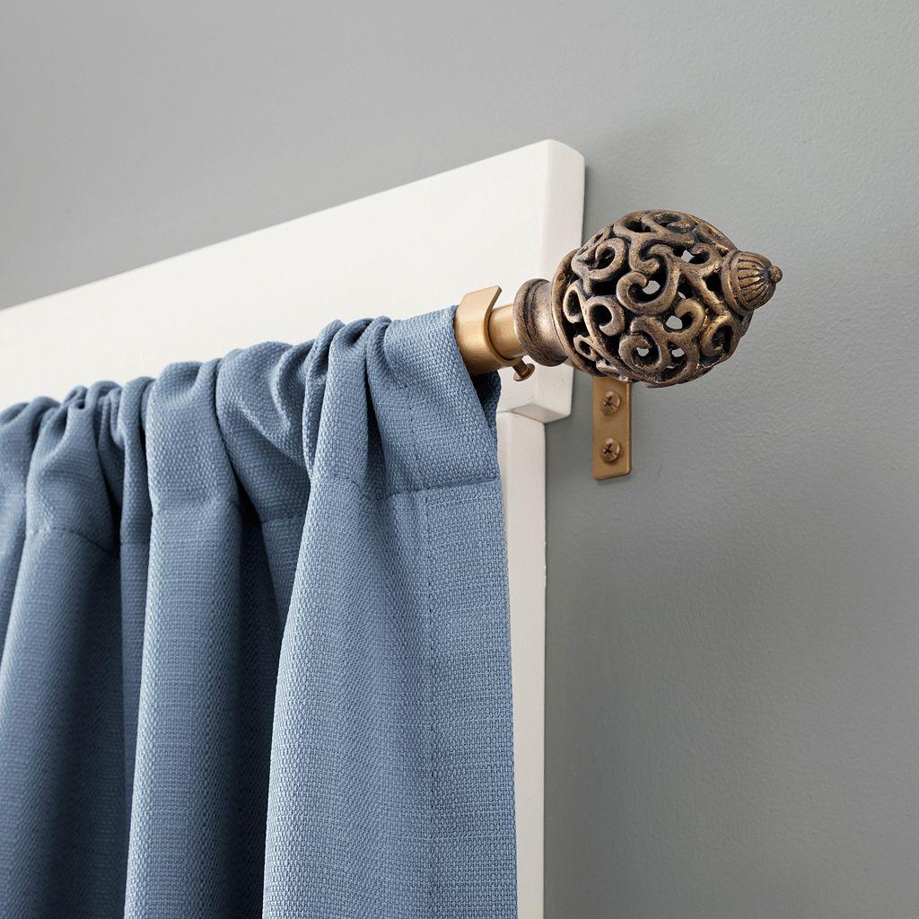Kenney Valentine Adjustable Curtain Rod