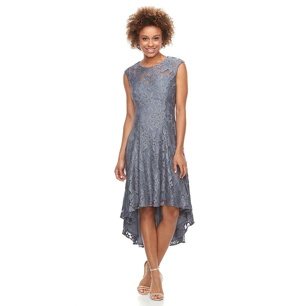 Women's Scarlett Lace High-Low Dress