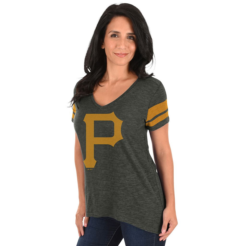 Plus Size Majestic Pittsburgh Pirates Hyper Tee