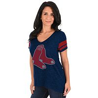 Plus Size Majestic Boston Red Sox Hyper Tee