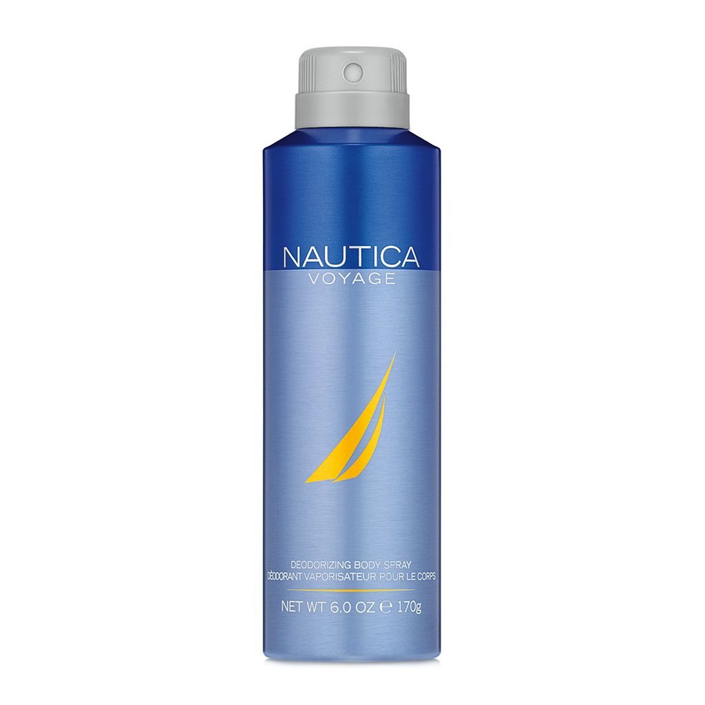 Nautica Voyage Men's Deodorizing Body Spray